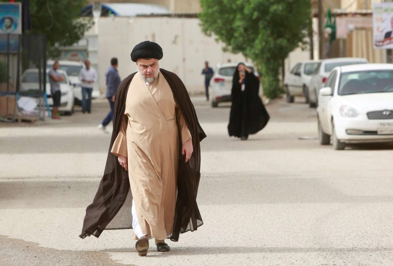 Sadr on top of the results of the Iraqi elections pledging not to disappoint voters