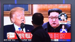 بيونغ يانغ تلوّح بإلغاء القمة بين ترامب وكيم