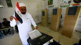 العراقيون يقترعون رغبة في التغيير
