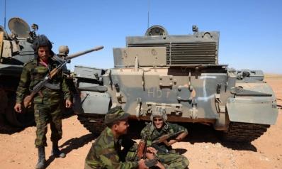 البوليساريو تستفز المغرب بمناورات في المنطقة العازلة