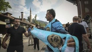 أردوغان يبحث عن ناخبين في أوروبا عبر بوابة سراييفو