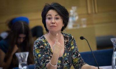 الزعبي.. نائبة بالكنيست رفضت الاستماع لنشيد إسرائيل