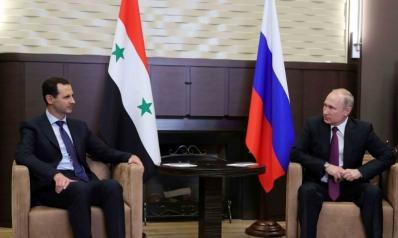 """بوتين يدعو إلى سحب """"جميع القوات الأجنبية"""" من سوريا"""