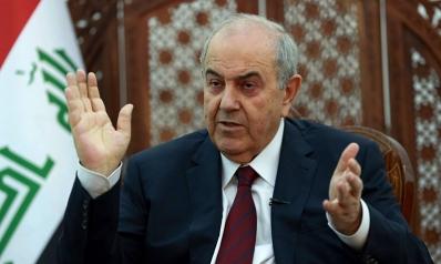 """إياد علاوي لـ""""العرب"""": لا دور لإيران أو سواها بتشكيل الحكومة المقبلة"""
