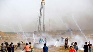 مسيرات العودة تنطلق من غزة إلى حيفا وتفتح ميادين الاشتباك