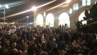 ربع مليون في الأقصى لإحياء ليلة 27 رمضان