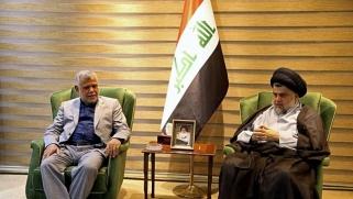 الصدر والعامري في تحالف يعزز نفوذ إيران في العراق