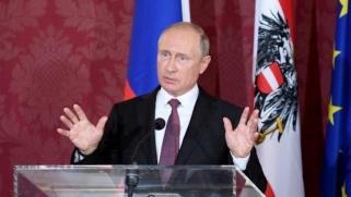 بوتين يشيد بشجاعة ترمب