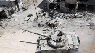 """""""جرائم حرب"""" تلاحق النظام والمعارضة بسبب الغوطة"""