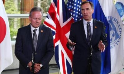 وزراء مالية مجموعة السبع يحملون ترمب مسؤولية اندلاع حرب تجارية