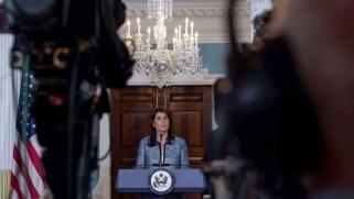"""واشنطن تنهي علاقاتها بمجلس حقوق الإنسان """"المنافق"""""""