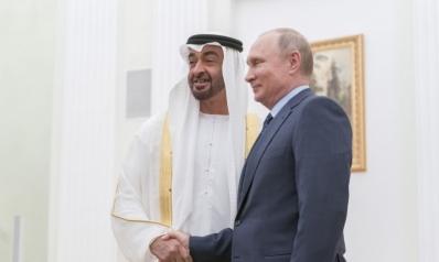 الشيخ محمد بن زايد وبوتين يوقعان إعلان شراكة استراتيجية