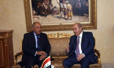تعهد مصري بالمشاركة في إعادة إعمار العراق