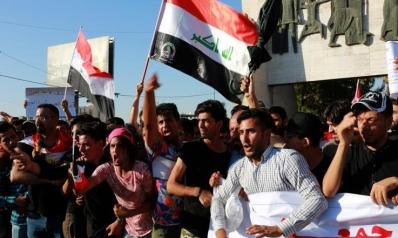 مظاهرات العراق.. انتقادات للأمن والعبادي يتهم أجندات خاصة