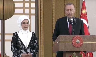 أردوغان يؤدي اليمين الدستورية وسط حضور حاشد