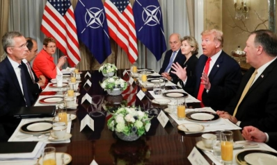 ترامب يهاجم ألمانيا ويوتر الأجواء بقمة الناتو