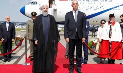 روحاني يبدأ بسويسرا لحشد دعم أوروبي للاتفاق النووي