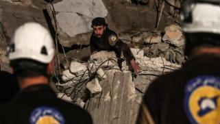 """دعاية النظام السوري وتخوين """"الخوذ البيضاء"""""""