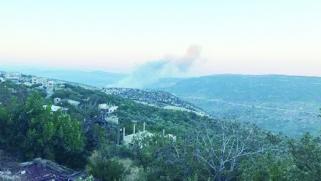 قصف مواقع عسكرية في حماة ودمشق تتحدث عن عدوان إسرائيلي