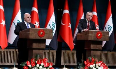 أردوغان يعِد العبادي بمراعاة حصة العراق في دجلة والفرات