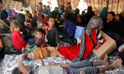 بالقوة.. الجيش يغلق مخيم نازحين في بغداد