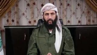 الجولاني: إدلب لن تفاوض النظام وسلاحنا خط أحمر