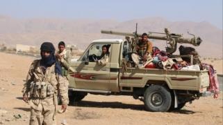 نيران التحالف تستهدف الجيش اليمني بالجوف