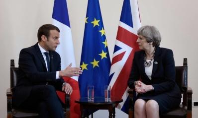 مفاوضات بريكست محور لقاء ماكرون وماي في جنوب فرنسا