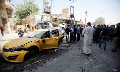 مقتل 11 عراقيا في تفجير انتحاري غرب البلاد
