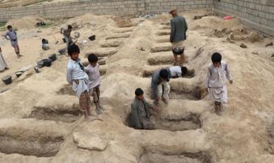 صعدة تشيع ضحايا المجزرة وتشكيك بتحقيق التحالف