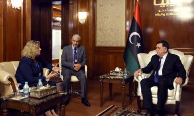 ليبيا تطالب بريطانيا بدعم رفع جزئي لحظر السلاح