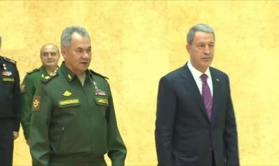 وزير الدفاع التركي يزور روسيا بشكل مفاجئ
