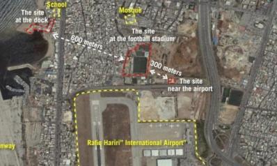 إسرائيل تنشر صوراً لمشروع صواريخ لـ«حزب الله» في بيروت