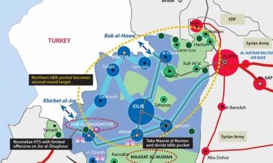 الجولة الأولى من الحملة على إدلب قد تستهدف المتمردين المدعومين من تركيا