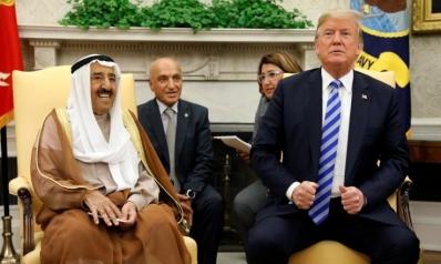 أمير الكويت يلتقي ترامب والقمة الأميركية الخليجية بديسمبر