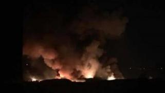 انفجارات قرب دمشق.. تماس كهربائي أم قصف إسرائيلي؟