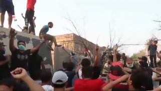 مظاهرات البصرة.. ضحايا وحظر تجوّل والصدر يمهل البرلمان
