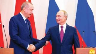سوريا: اتفاق بين الرئيسين التركي والروسي يوقف العمليات العسكرية على إدلب