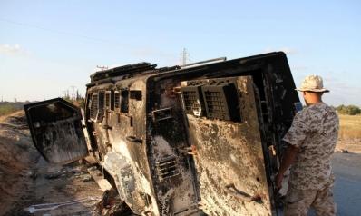 هدوء حذر في طرابلس بعد ليلة من المواجهات المسلحة