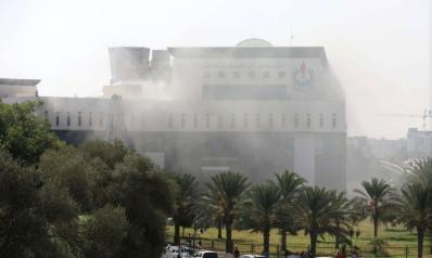 هجوم مسلح على مقر مؤسسة النفط الليبية في طرابلس