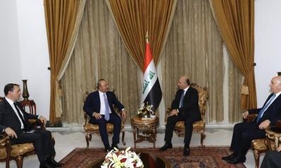 جاويش أوغلو يؤكد دعم العراق في جميع المجالات