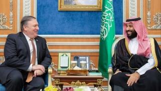 بومبيو لولي العهد السعودي: مستقبلك كملك على المحك