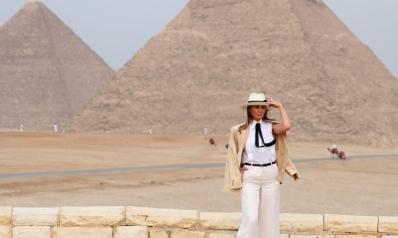95 ألف دولار.. كلفة ست ساعات قضتها ميلانيا ترامب بالقاهرة