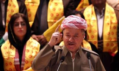 البارزاني في بغداد لتثبيت حصة الأكراد في الموازنة