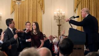 """مراسل """"سي أن أن"""" مجددا بالبيت الأبيض رغم اعتراض ترامب"""