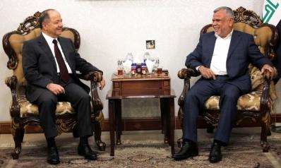 مسعود البارزاني يقود عملية تشكيل تحالف مصالح جديد في بغداد
