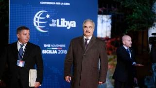 إيطاليا لم تنجح في إقناع حفتر بالمشاركة في مؤتمر باليرمو