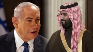 """الزعيم المنتظر.. حين يدافع نتنياهو عن """"خادم الحرمين"""""""