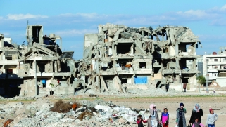 الجيش السوري في منبج لمساعدة الأكراد على مواجهة التهديدات التركية