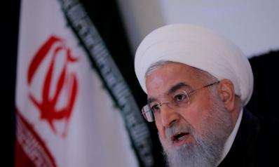 روحاني يحذر من طوفان على الغرب بعد العقوبات الأميركية